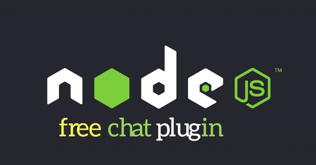 Node Chat – Node js Chatroom Free Plugin Available.