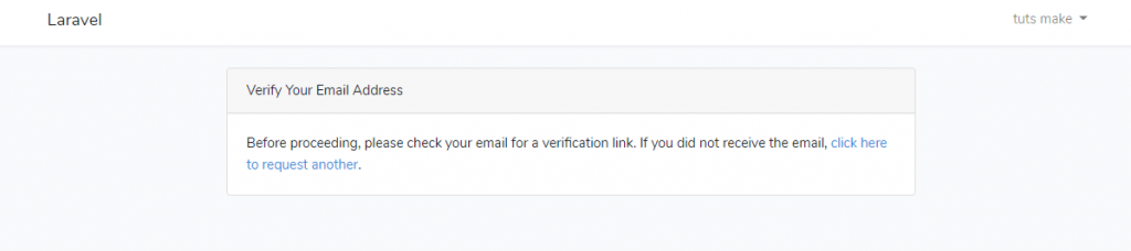 laravel 5.7 email verification