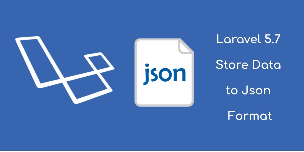 laravel json format data