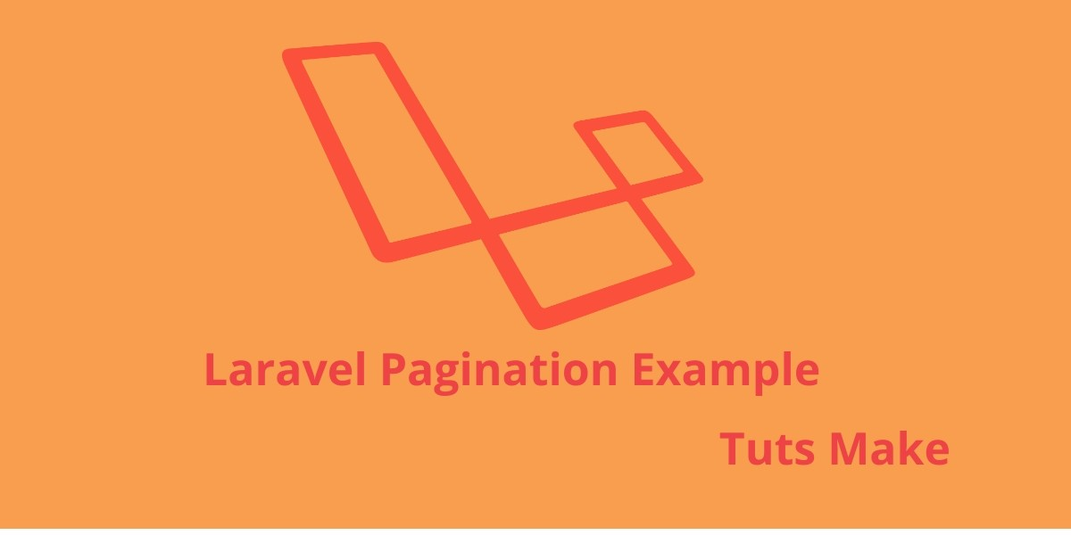 Laravel PHP  Framework Pagination Example