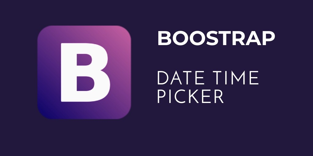 boostrap datetimepicker