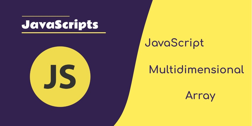 javaScript Multidimensional array