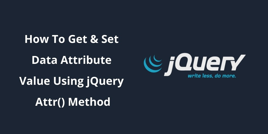 get data attribute jquery