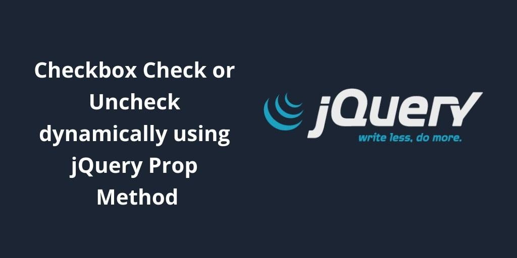 jquery checkbox checked