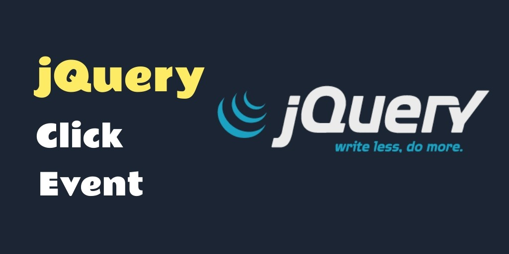 Jquery Click() Event Method with E g  - Tuts Make