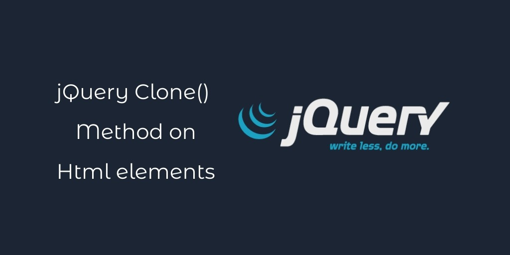Duplicate Html Elements Using jQuery Api By Example