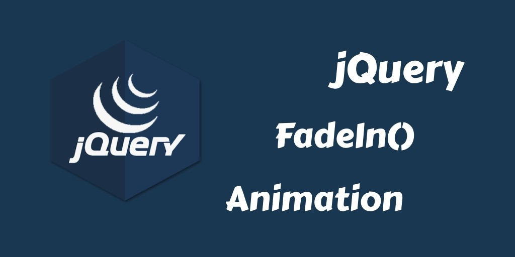 Effect jQuery FadeIn Animation By Example - Tuts Make