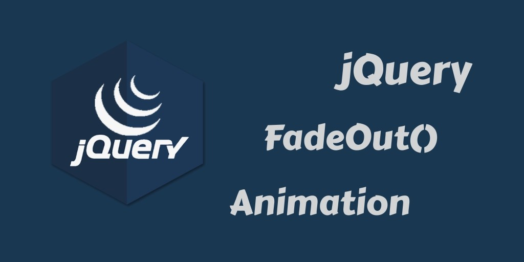 jquery fadeout animation