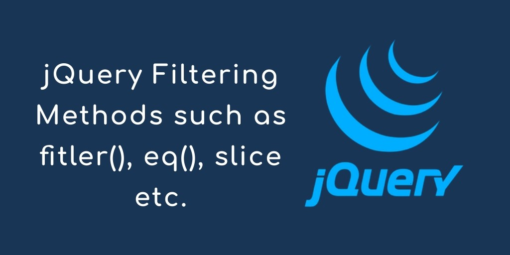 How to Use jQuery Api Filtering Methods