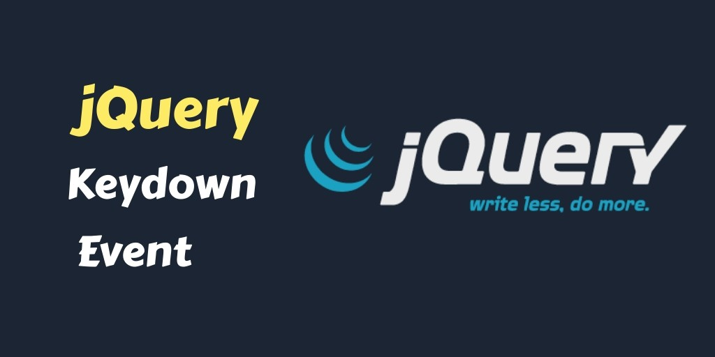 jquery keydown event