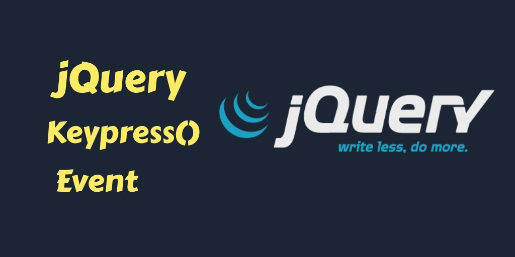 jquery keypress event