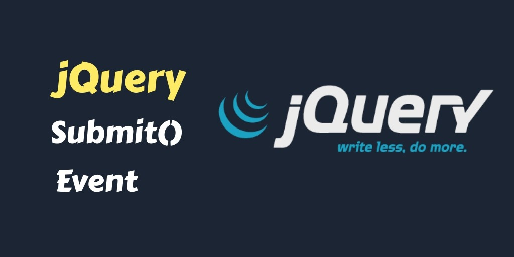 jquery submit event