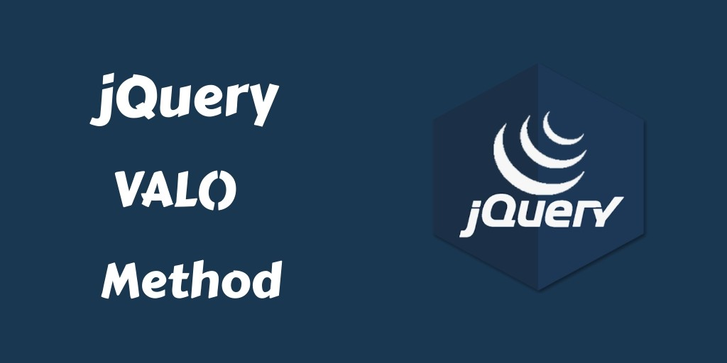 How to Get & Set Input, Text, Select Value jQuery