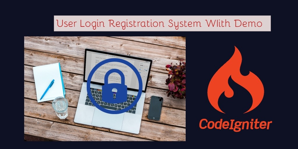 login register codeigniter