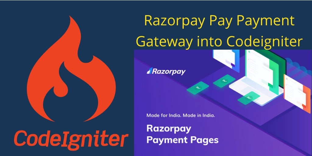 razorpay integration codeigniter