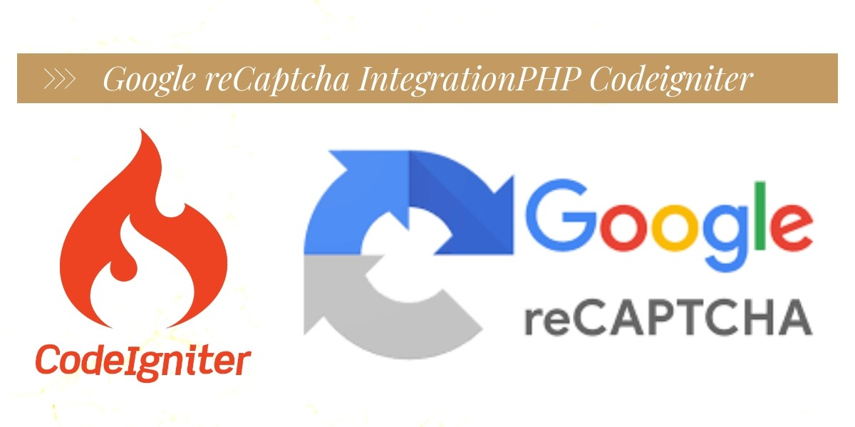 Codeigniter PHP Google Recaptcha Form Validation Demo