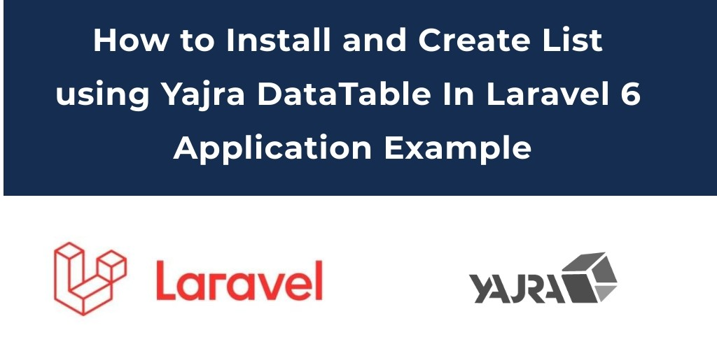 Laravel 6 DataTables Example Tutorial - Tuts Make