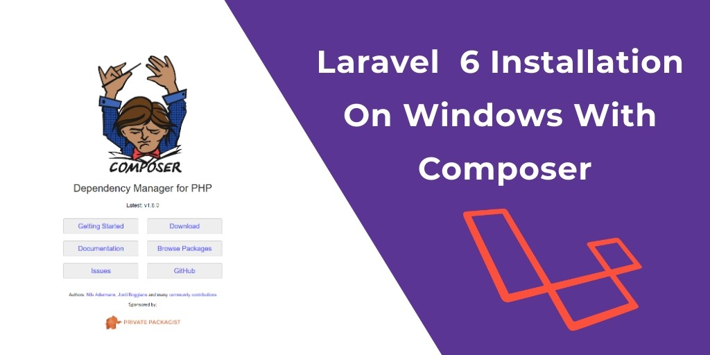 Laravel  6 Installation On Windows With Composer