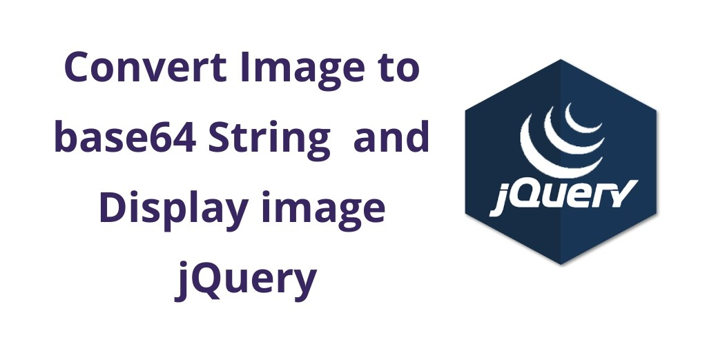 Convert Image to base64 String jQuery