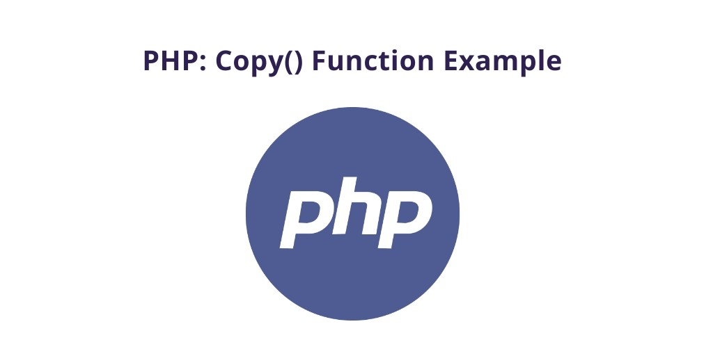 PHP: Copy() Function Example
