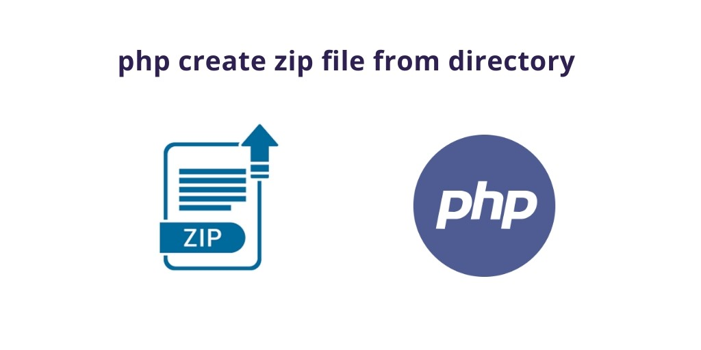 PHP Create Zip File From Directory