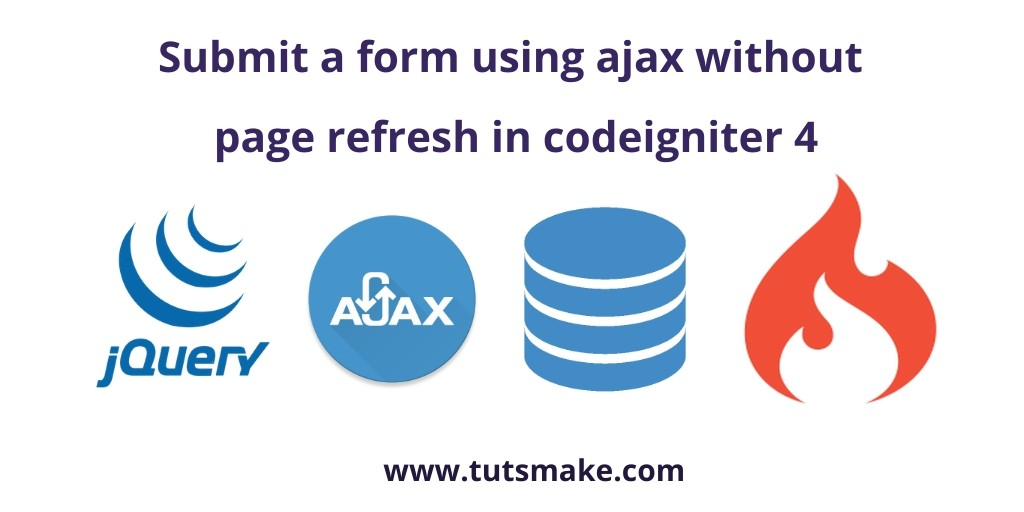 CodeIgniter 4 Ajax Form Submit Validation Example