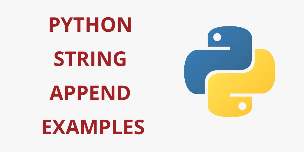 Python String Append Examples - Yudhy Network