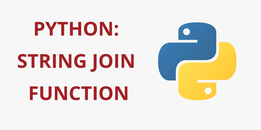 Python Join/Concatenate String