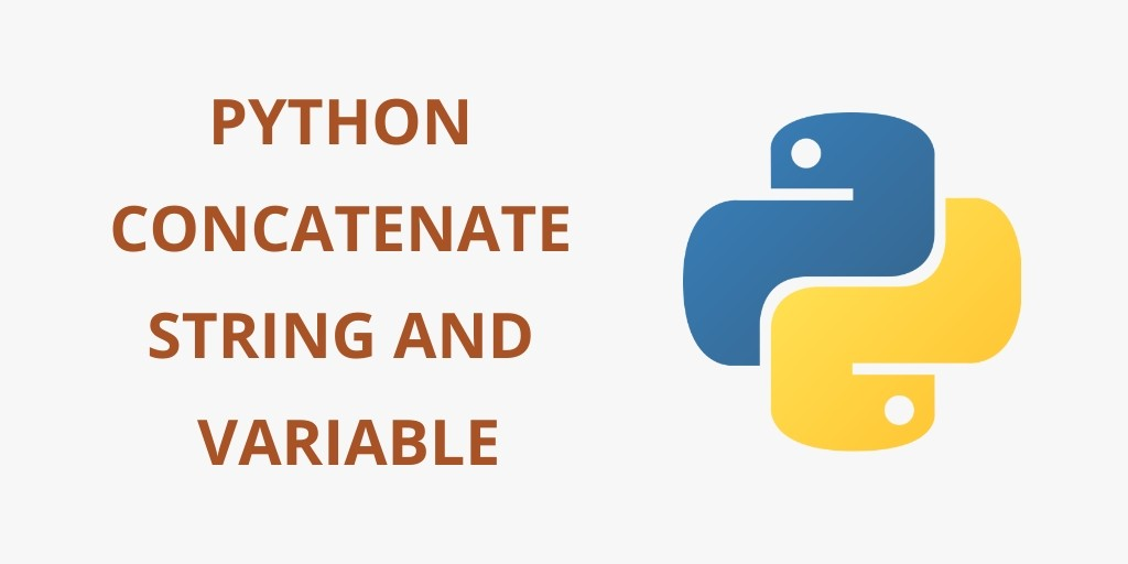 Python Concatenate String and int, float Variable