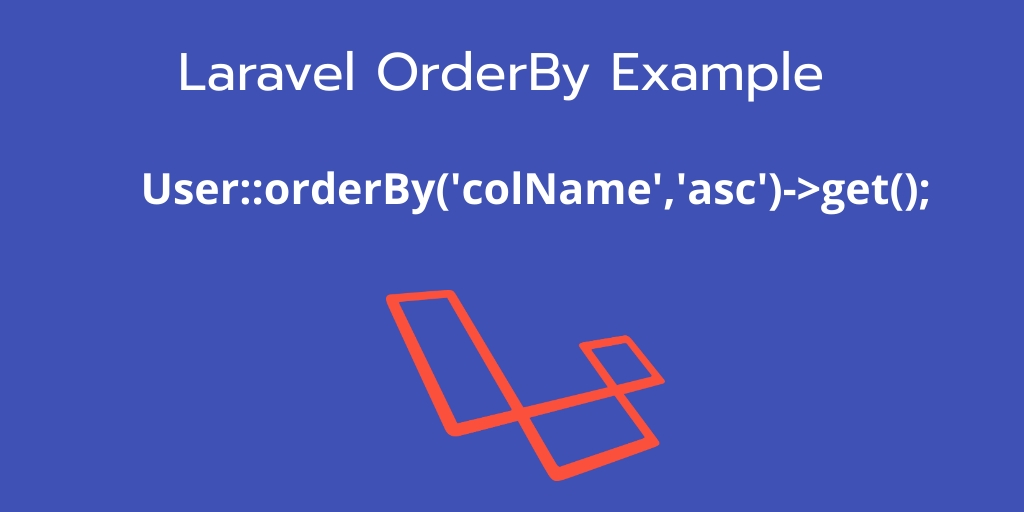 laravel Order By Example