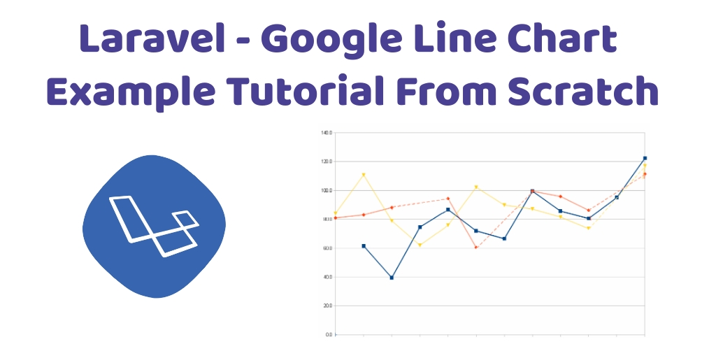 Laravel – Google Line Chart Example Tutorial From Scratch