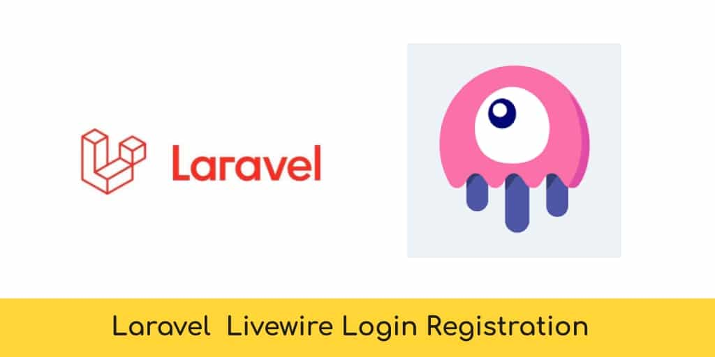 Livewire Login Register in Laravel