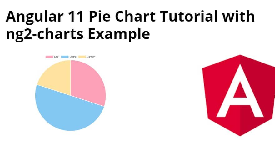 Angular 11 Pie Chart Tutorial with ng2-charts Example