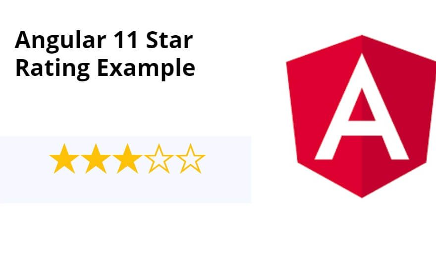 Angular 11 Star Rating Example