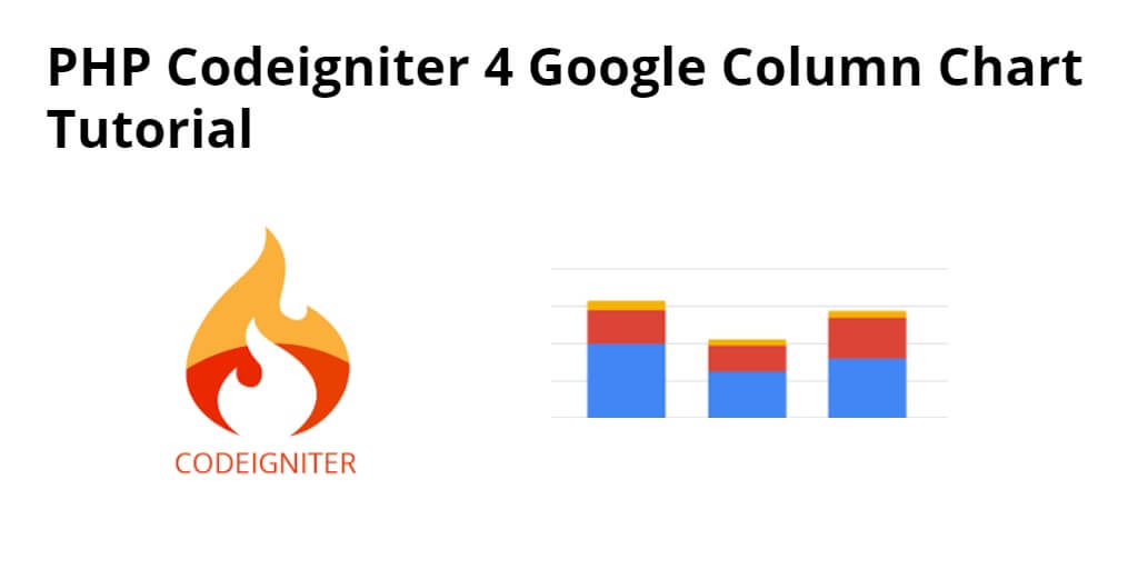 PHP Codeigniter 4 Google Column Charts Tutorial - Yudhy Network