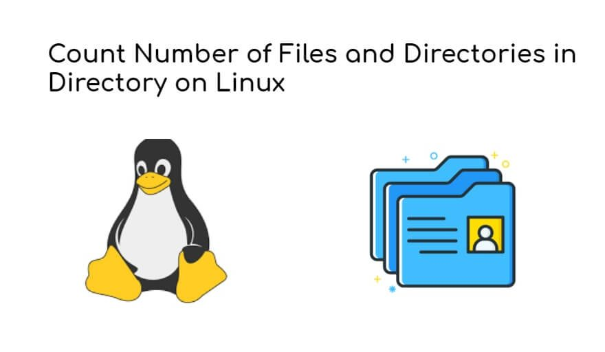 Count Number of Files and Directories in Directory on Linux
