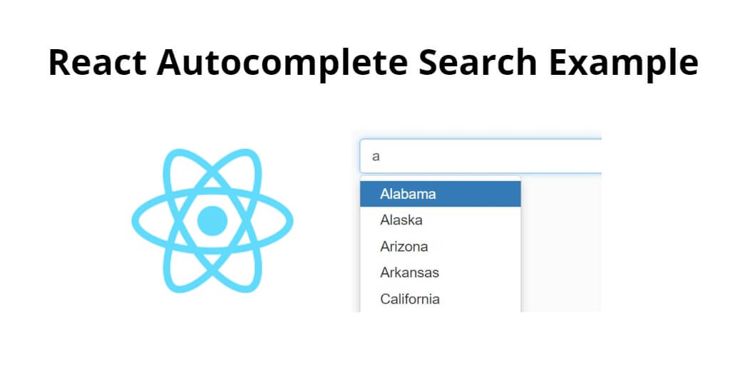 React Autocomplete Search Example