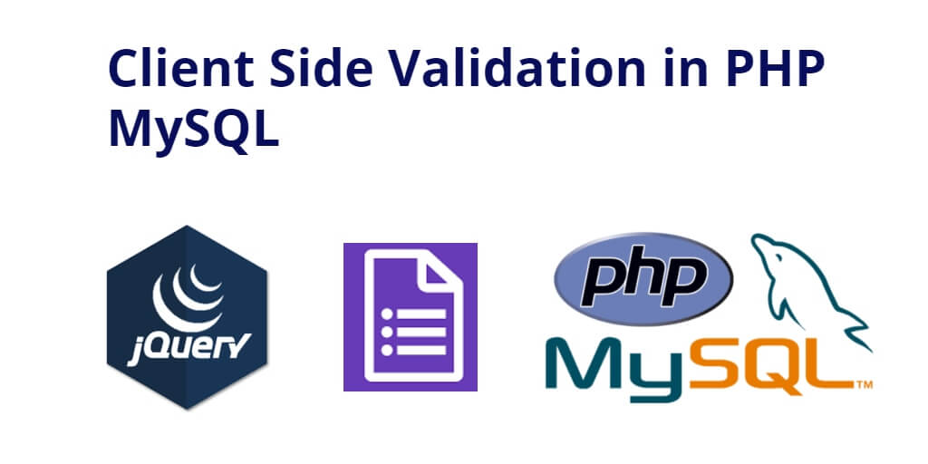 jQuery Form Validation in PHP