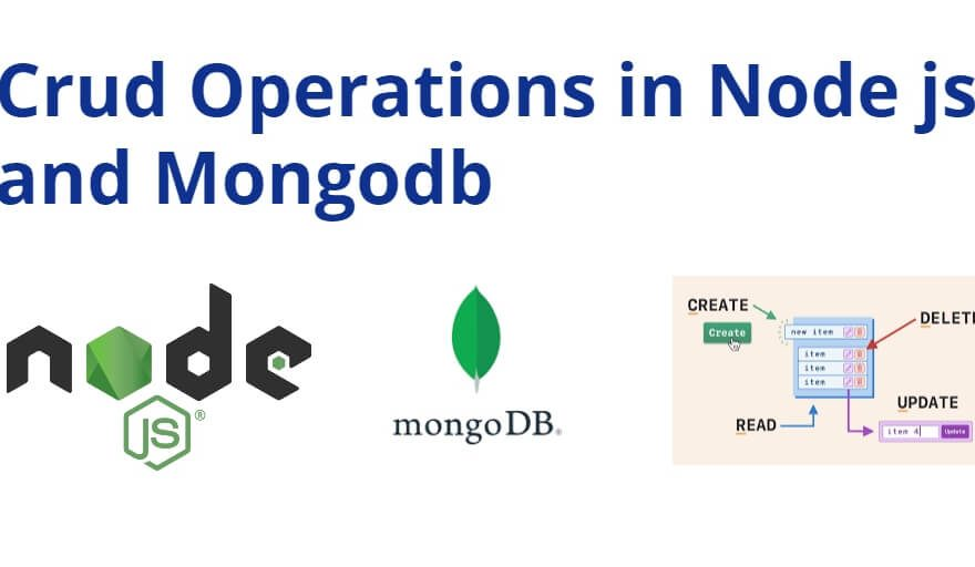 Crud Operations in Node js and MongoDB Example