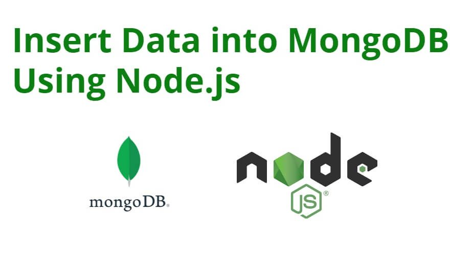How to Insert Data into MongoDB Using Mongoose and Node. js